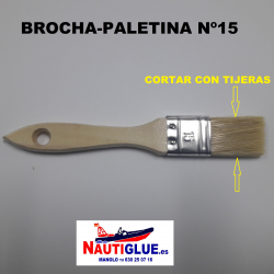 BROCHA  PALETINA Nº15