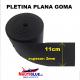 PLETINA PLANA EN GOMA (ancho-110mm).