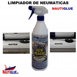 LIMPIADOR DE NEUMATICAS Y SEMIRRIGIDAS.
