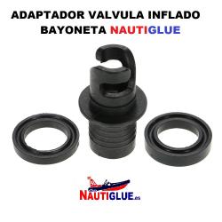 ADAPTADOR VALVULA INFLADO BAYONETA