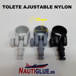 TOLETE AJUSTABLE NYLON