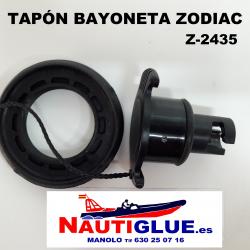 TAPON BAYONETA  ZODIAC Z2435